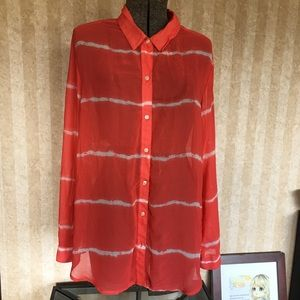 Old Navy Tops - Bright Old Navy Blouse.